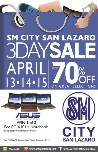 SMSL 3-Day Sale&LStudio flyer 2