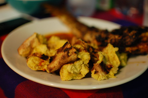 Nigerianrecipe_Roastedplantains&fish