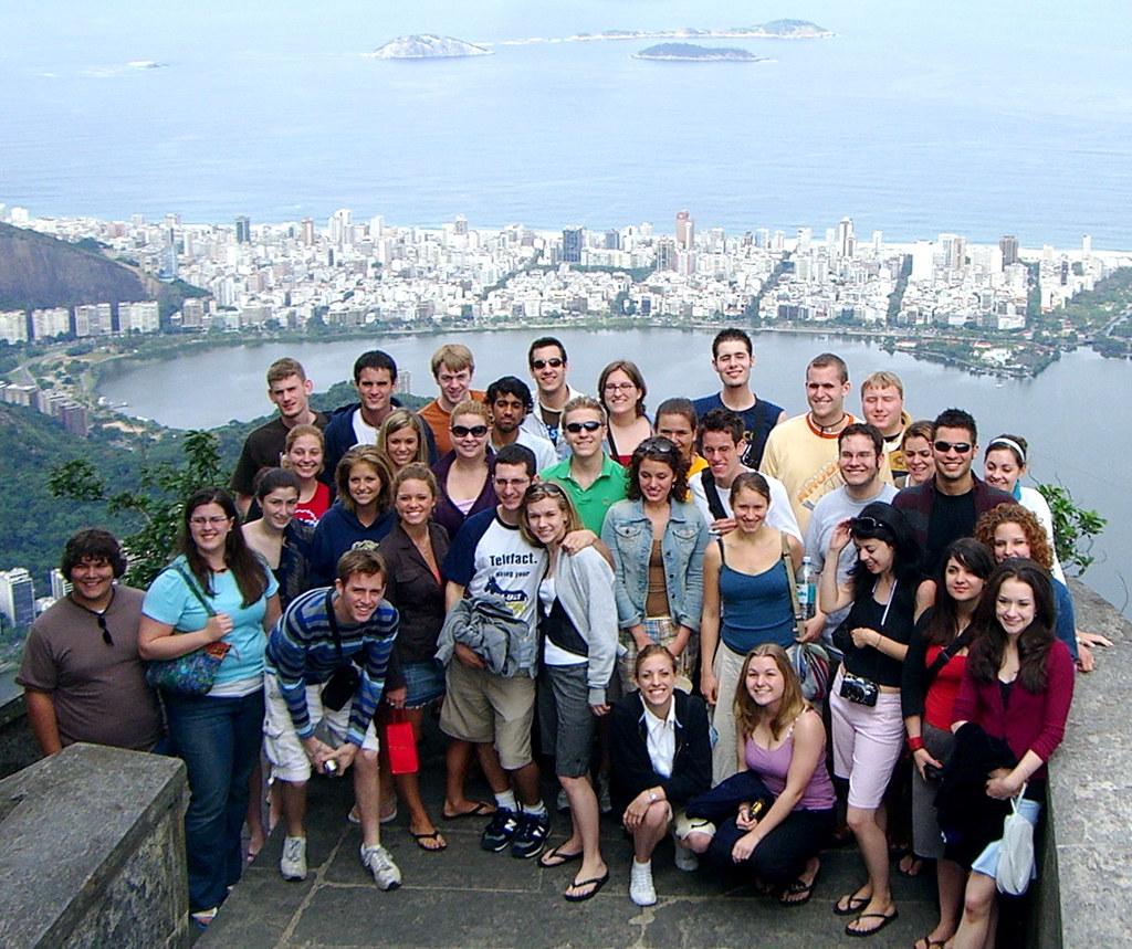 Heinz Chapel Choir at Corcovado in Rio de Janeiro
