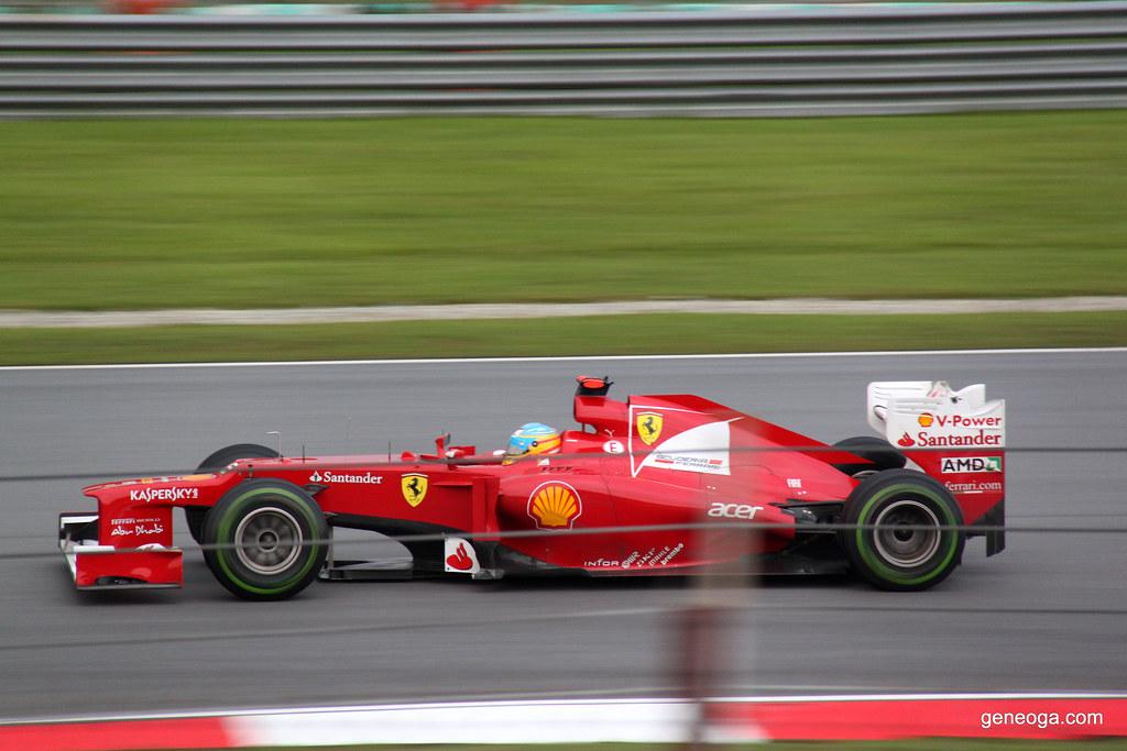 The Ferrari on high speed.