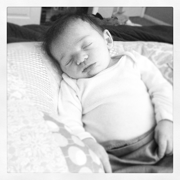 Love napping with this little peanut.
