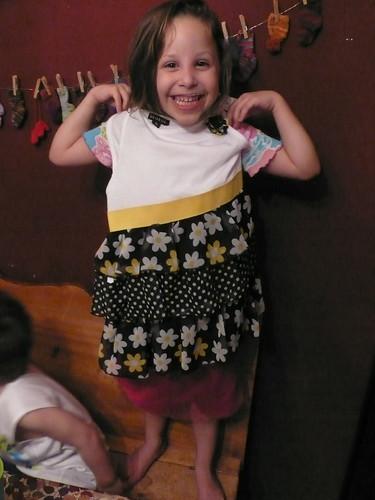 Daisy's dress from Grandma and Grandpa
