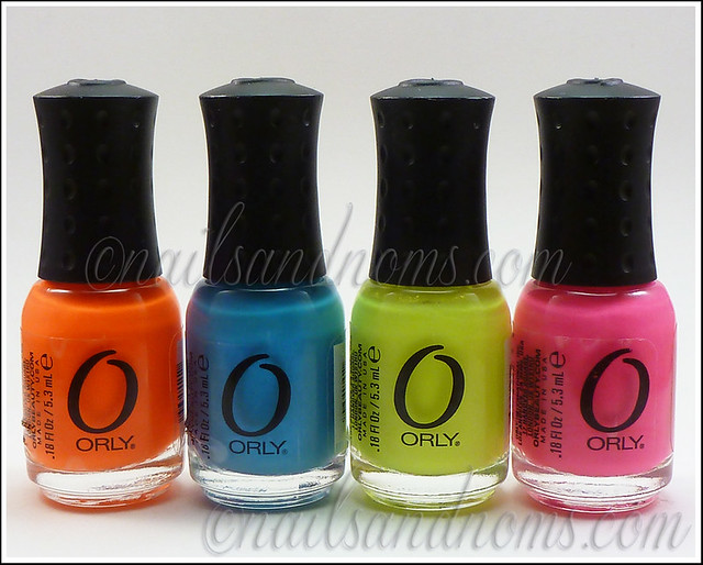 Orly Feel The Vibe Collection Minis