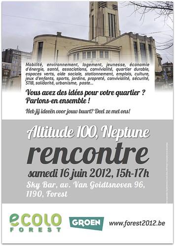 Rencontre de quartier Altitude 100 & Neptune : 16/06, 15h