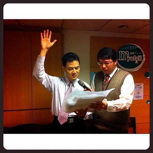 BNI長勝分會:保險代表羅平宣誓加入 by bangdoll@flickr