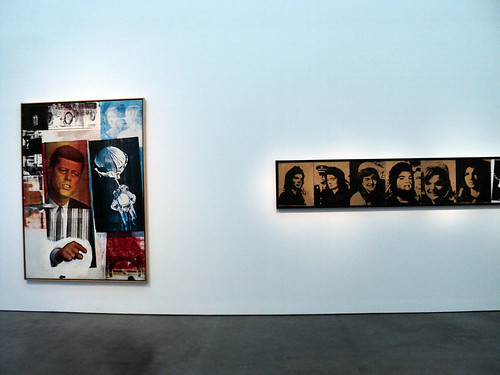 Rauschenberg and Warhol at the MCA