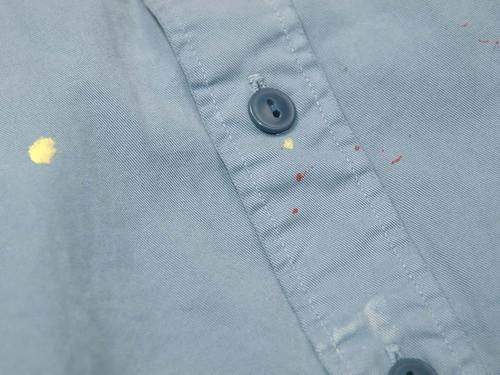 Rugby / Distressed Chino Shirt , Khaki Farrell Shirt