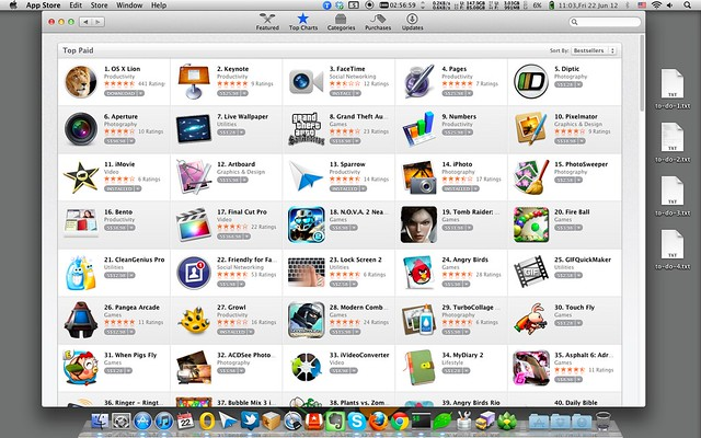 Mac App Store Now In Singapore Dollars (S$)