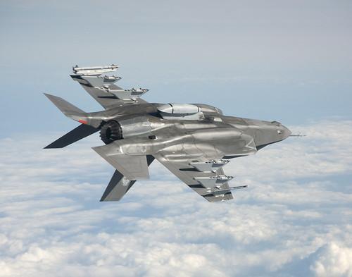 [フリー画像素材] 戦争, 軍用機, 戦闘機, F-35 ライトニング II ID:201206250000