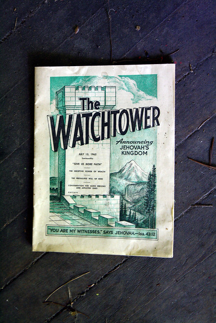 The WATCHTOWER dated July 15, 1963.