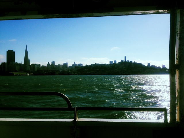 SF From The Ferry Peralta
