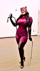 latex clothing(1.0), clothing(1.0), muscle(1.0), lady(1.0), costume(1.0), adult(1.0),