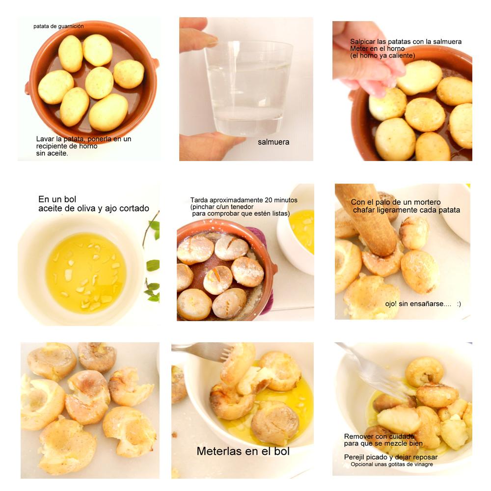 Batatas de murros nas costas