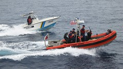 f1 powerboat racing(0.0), pilot boat(0.0), fishing vessel(0.0), vehicle(1.0), sea(1.0), skiff(1.0), boating(1.0), motorboat(1.0), patrol boat(1.0), inflatable boat(1.0), rigid-hulled inflatable boat(1.0), watercraft(1.0), boat(1.0), coast guard(1.0),
