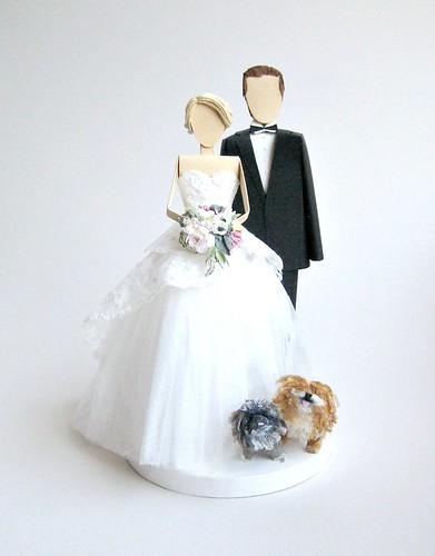 Handmade Wedding Cake Toppers Concarta