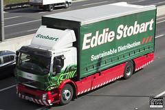 Volvo FE Hybrid 4x2 Curtainside - PX11 BKK - Connie - Eddie Stobart - M1 J10 Luton - Steven Gray - IMG_7815