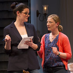 Kate Shindle and Annie McNarmara in the Huntington Theatre Company's production of Gina Gionfriddo's RAPTURE, BLISTER, BURN. May 24 – June 30, 2013 at South End / Calderwood Pavilion at the BCA. photo: T. Charles Erickson.