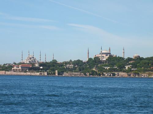 Az AyaSofya és a Kék Mecset