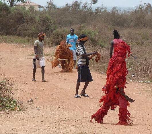El hombre del bosque (Gambia)