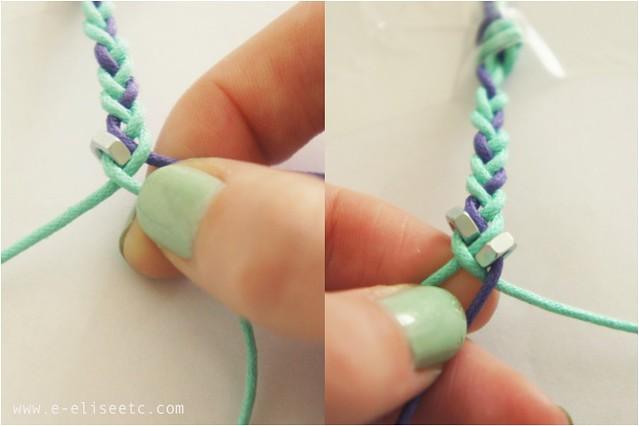 diy hex bracelet 3