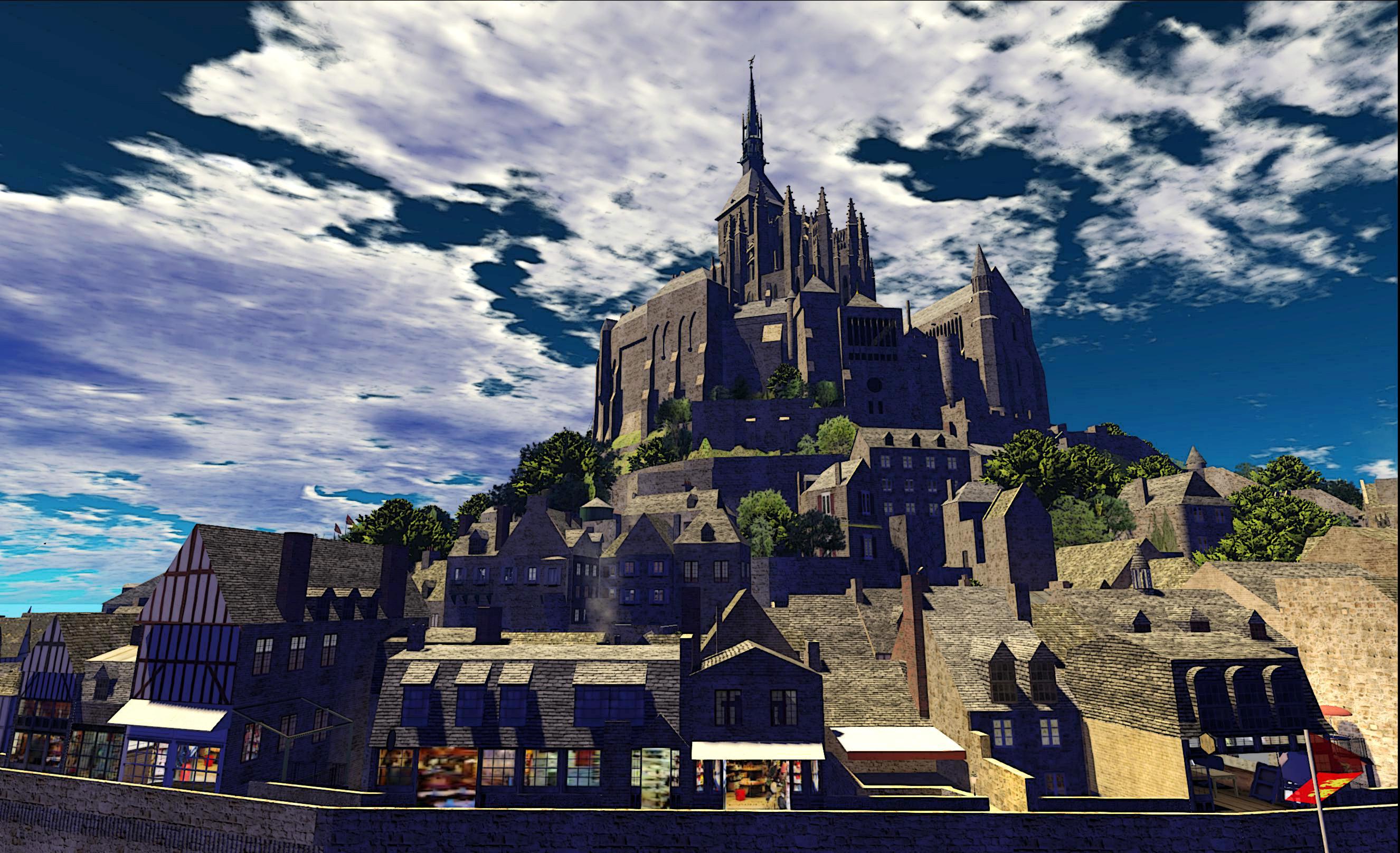 Mont Saint Michel; Inara Pey, June 2013, on Flickr