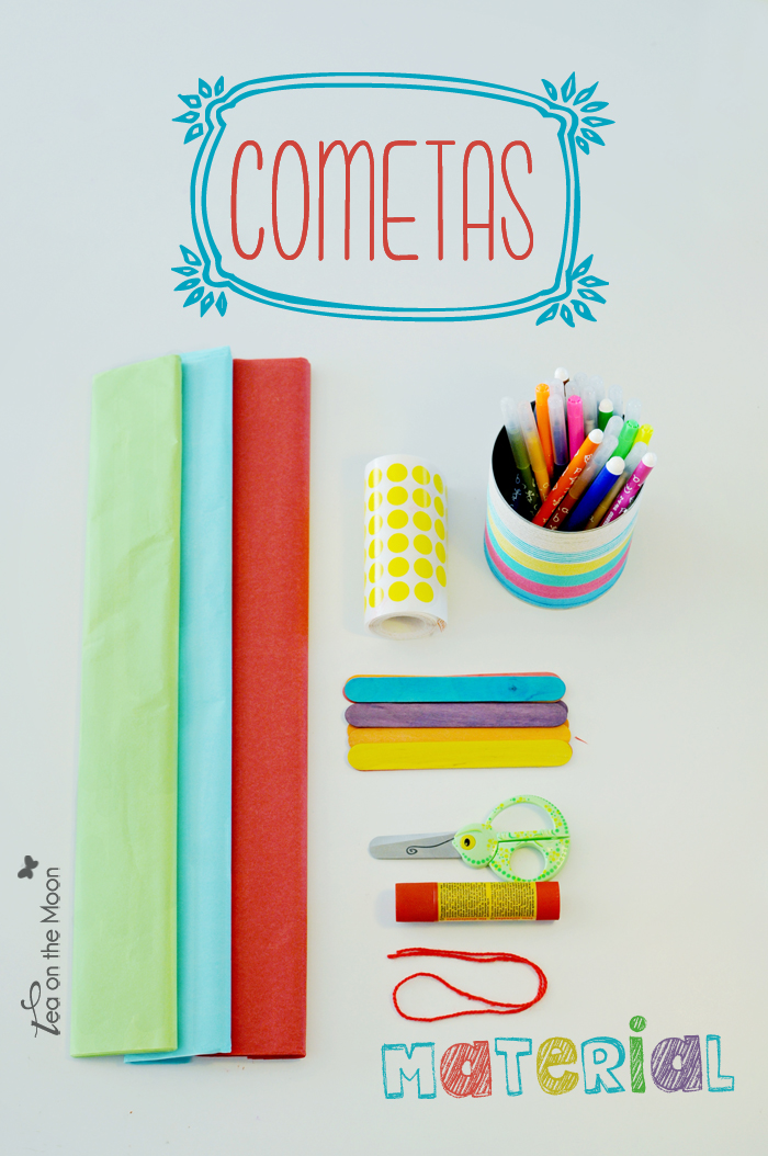 Cometas kite craft material