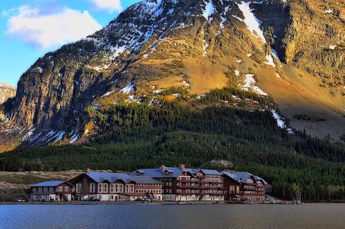 The Many Glacier Hotel (Glacier National Park)