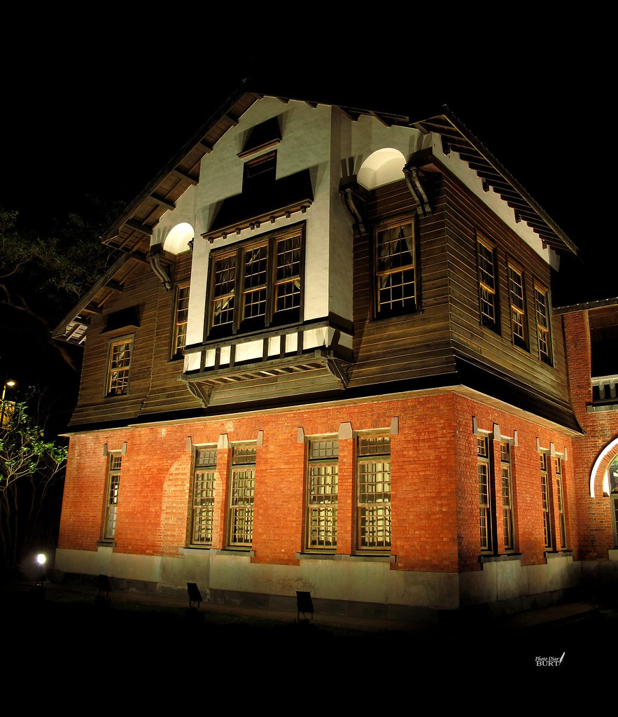 溫泉博物館夜景