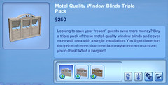 Motel Quality Window Blinds Triple Pack