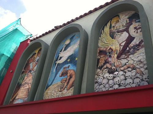 Former First Street store murals