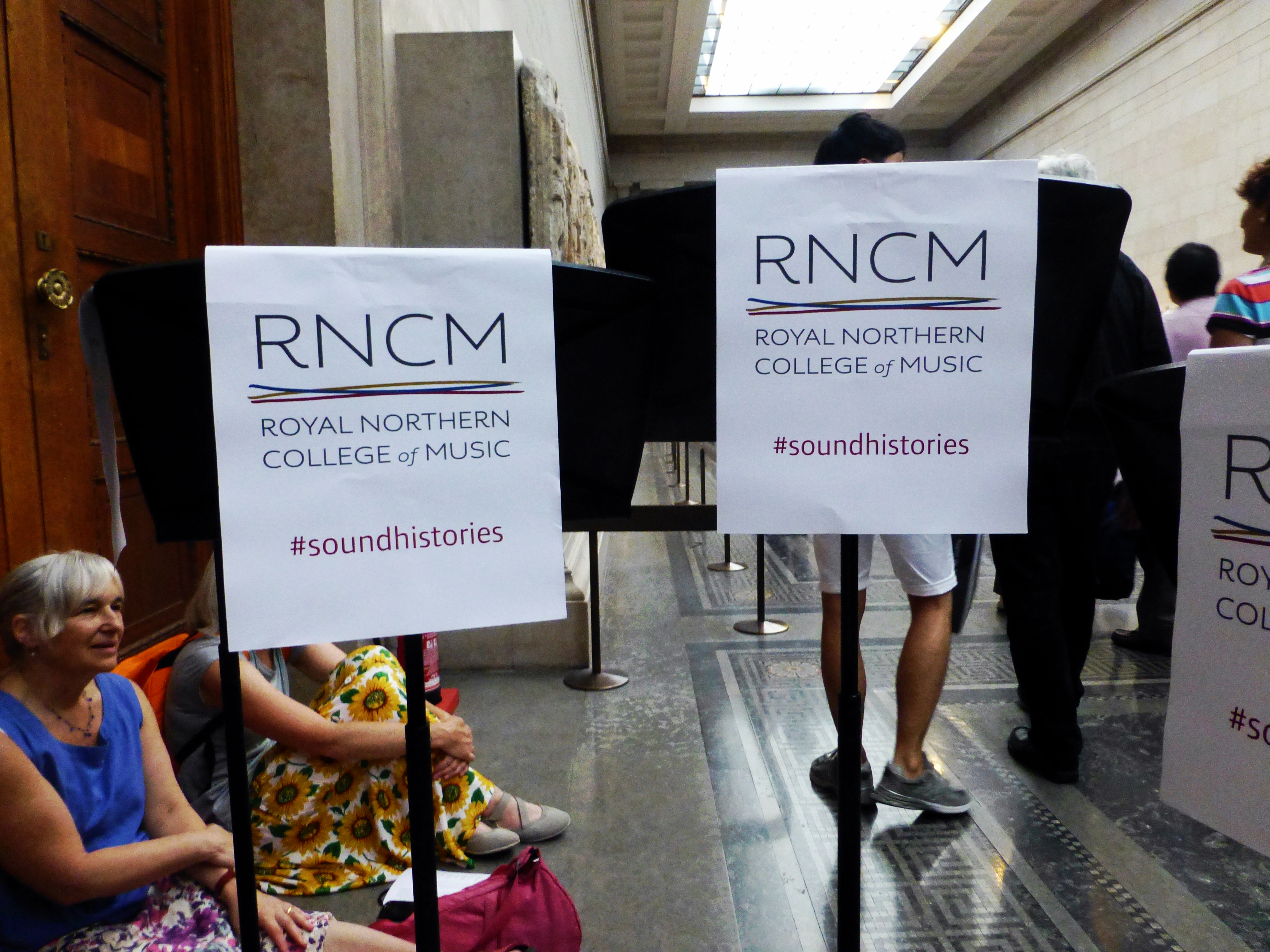 Royal Northern College of Music at #SoundHistories at the British Museum, London