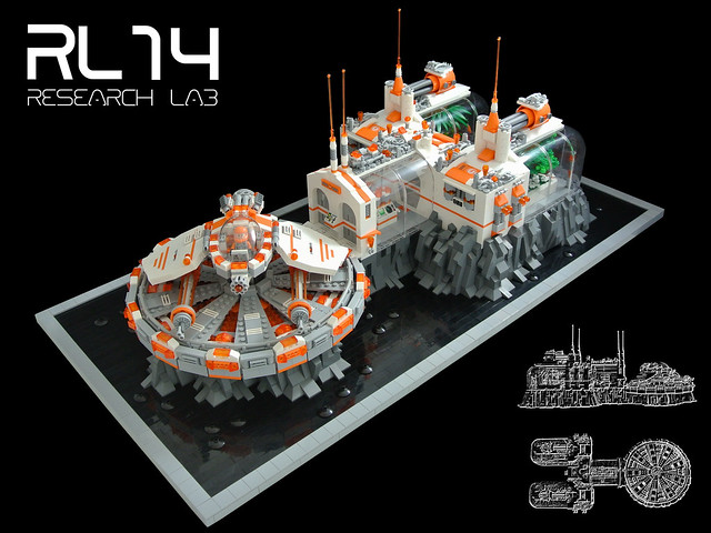 LEGO Research Lab RL14 - Research Lab