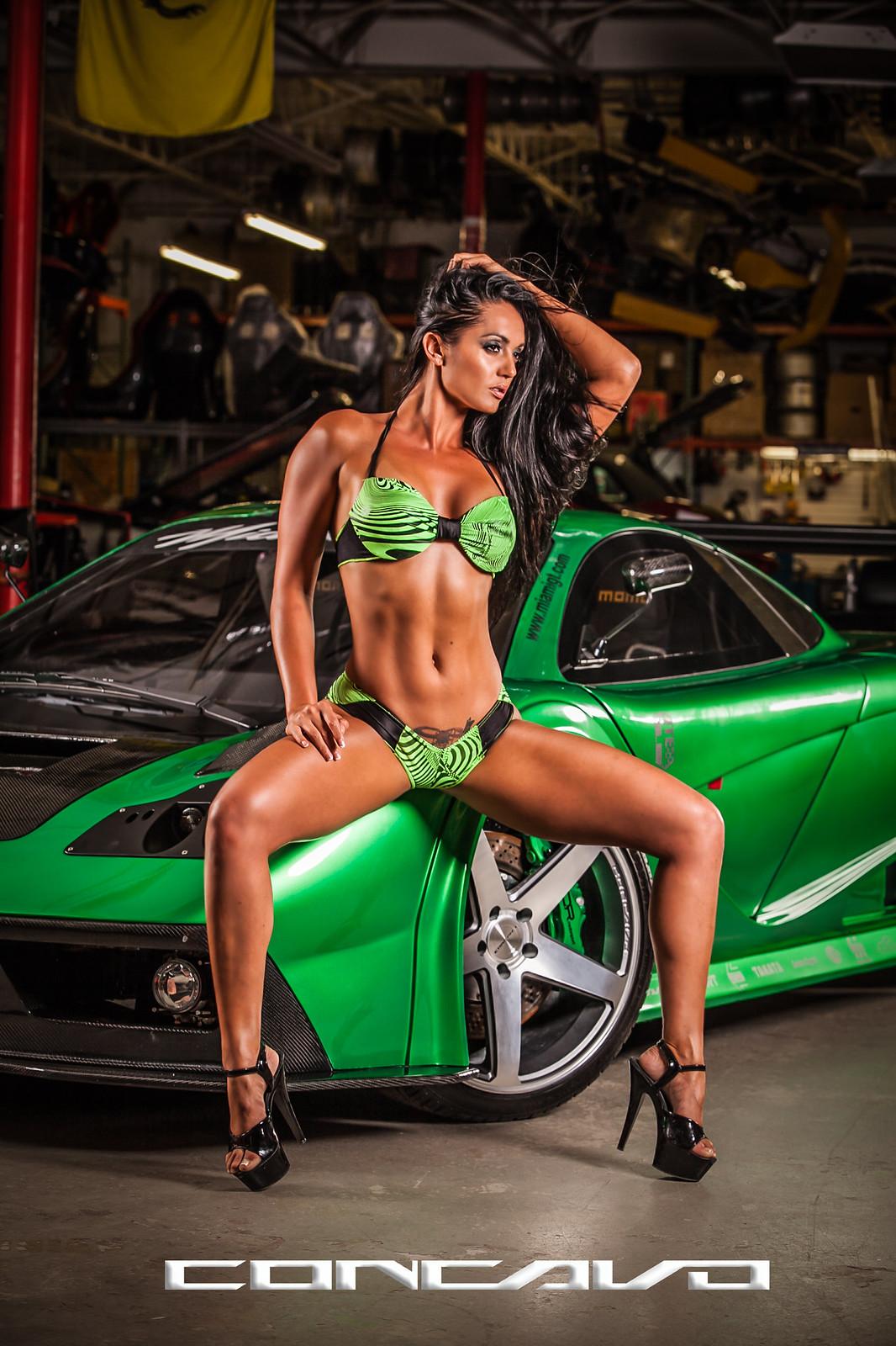 Bikini car picture wash