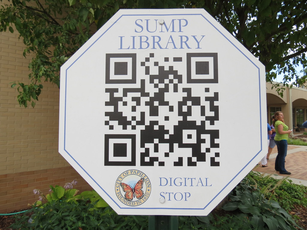Sump Memorial Library QR Code