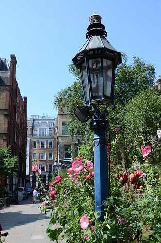 Garden behind the Actor's Church, Covent Garden