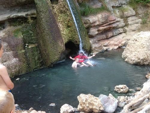 Hot springs by Rob Elkins