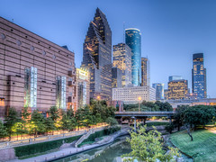 Houston Buffalo Bayou View