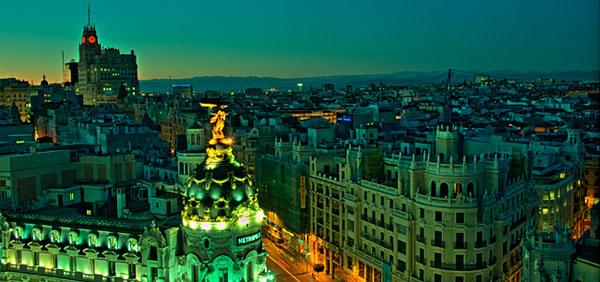 Vistas desde el Círculo de Bellas Artes (Madrid)