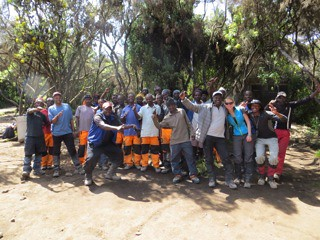 9503073738 a2d9e9644b Our sense of achievement was the single lasting impression on Kilimanjaro