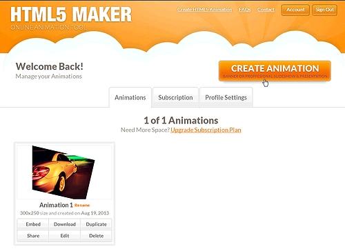 HTML5 maker 1