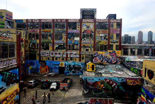 5 Pointz from the 7 Train
