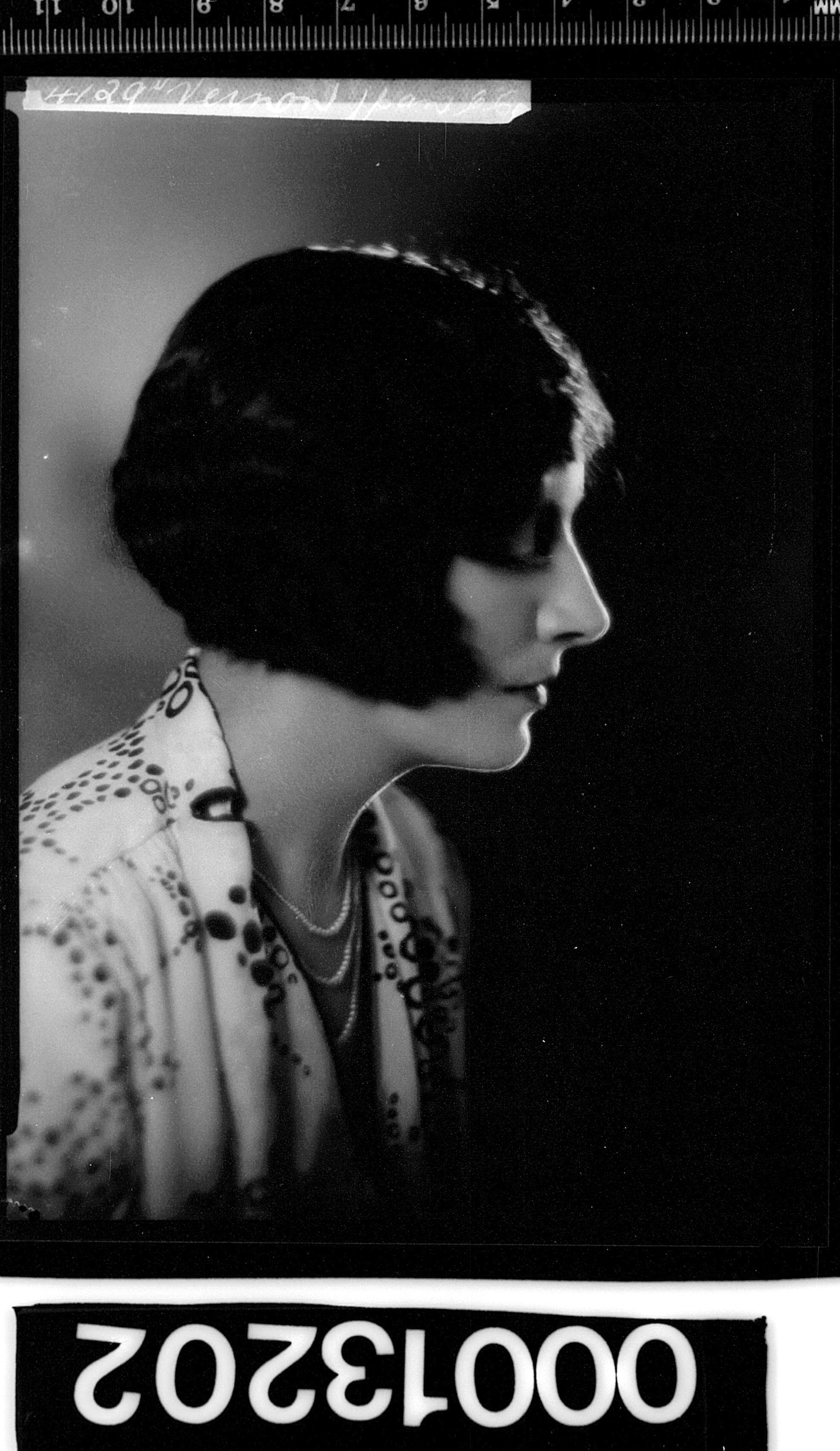 Portrait of singer Miss Patsy / Patsie Hill