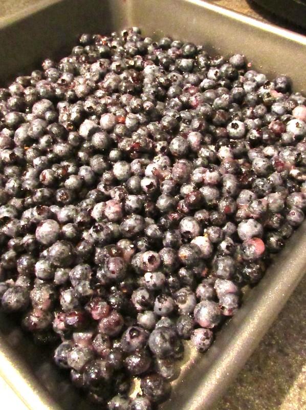Jamie's Blueberry Crisp