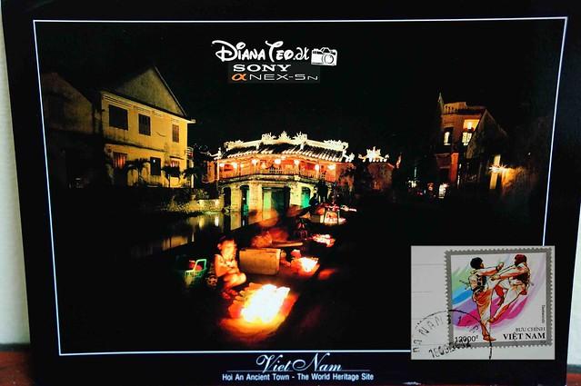 Postcard 17 - Vietnam Hoi An