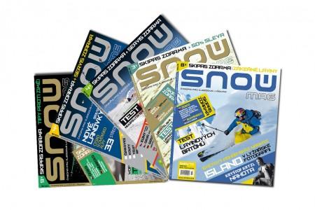 Harmonogram SNOW, NORDIC a SWISSmag v sezóně 2016/17
