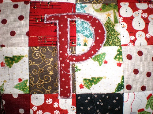 applique initial P