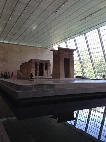 Temple of Dendur at the Met by Michael Tinkler