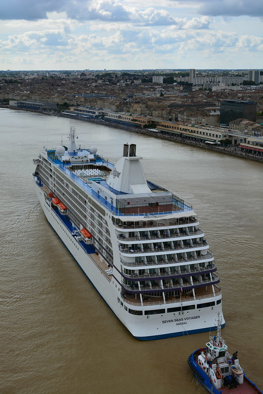 Arrivée du paquebot MS SEVEN SEAS VOYAGER - Bordeaux - 15 septembre 2013