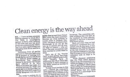 sept 18 b 2013 clean energy way forward letters by CadoganEnright
