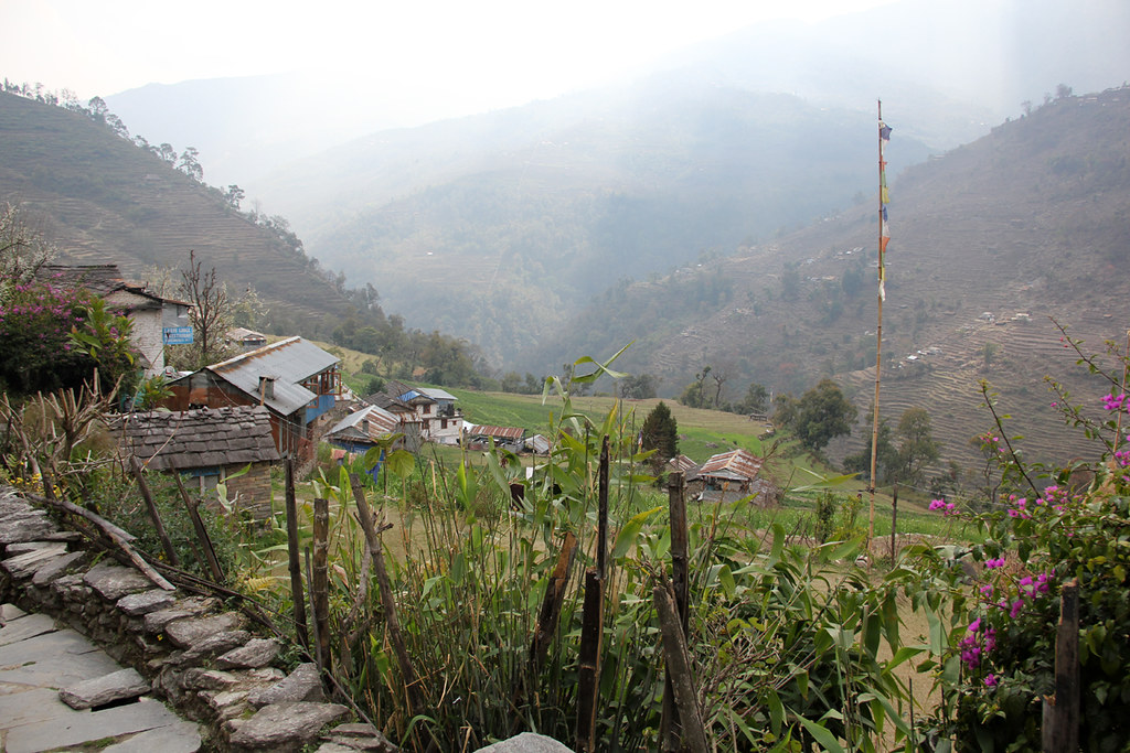 Great views of villages and hillside farms